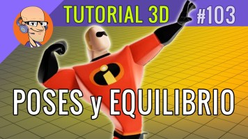 ¿Viste este increible Tutorial Poses 3D en Equilibrio?