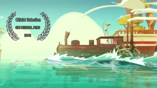 Corto Animado: Fishing Train