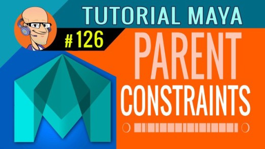 Constraints (Parent, Point y Orientation)  : Tutorial Autodesk Maya